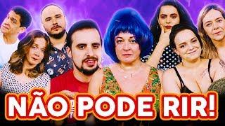 NÃO PODE RIR! - com DUBLADORAS (Tânia Gaidarji, Flora Paulita, Angélica Santos e Yasmin Yassine)