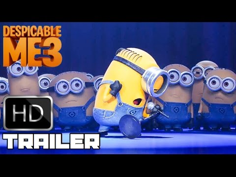 Despicable Me 3 'Minions Take To Stage' Trailer (2017) Animated Movie HD