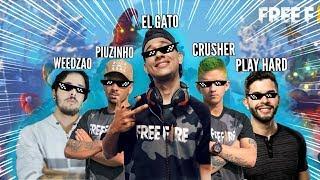 TOP 10 - Melhores Youtubers de FREE FIRE!!