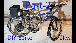 DIY Ebike 1500W Part 2