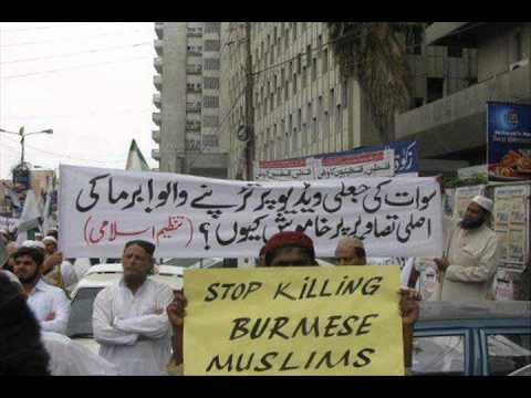 """Response to """"Secular Pakistan"""" on Burma killings"""