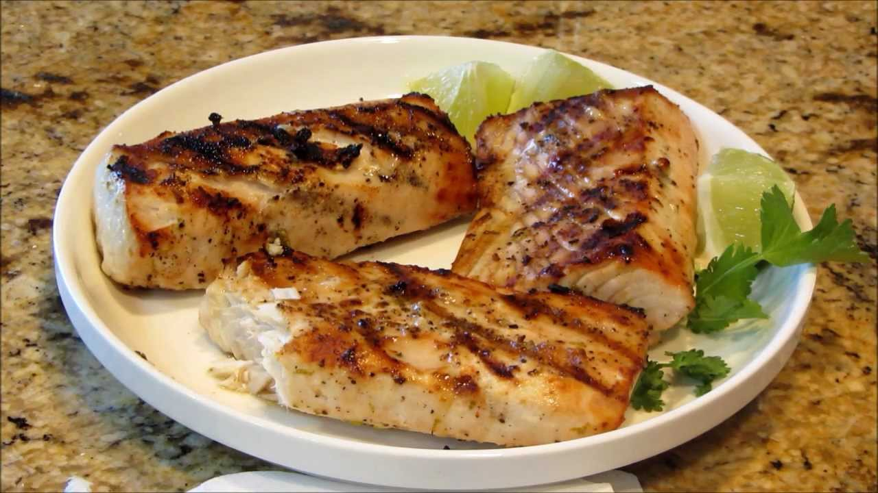 Light And Easy Grilled Ono Fish Fillets - YouTube