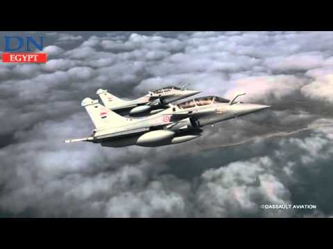 Rafale fighter jets arrive in Egypt