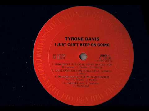 Tyrone Davis - Overdue - Modern Soul Classics