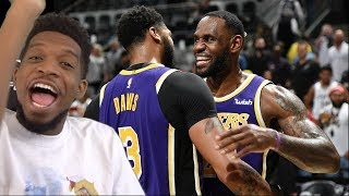 WE CANT LOSE BRO!!! LAKERS vs SPURS HIGHLIGHTS