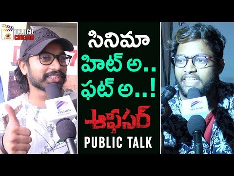 Officer Movie Public Talk | Officer Public Response | Nagarjuna | Myra Sareen | RGV | #Officer