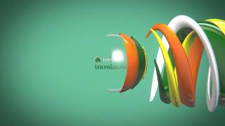 swirl ball irelandtravelgo logo intro