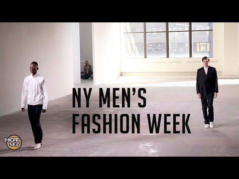 Hot 97 Stops By New York Men's Fashion Week