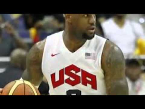USA Vs Nigeria Highlights Olympics 2012   USA Olympic Scoring Record 156 Points 29 3pts August 2