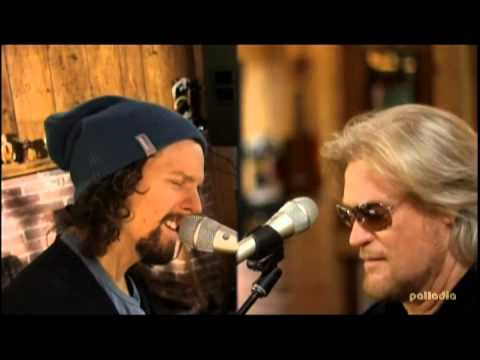 Jason Mraz i Wont Give Up With Daryl Hall video