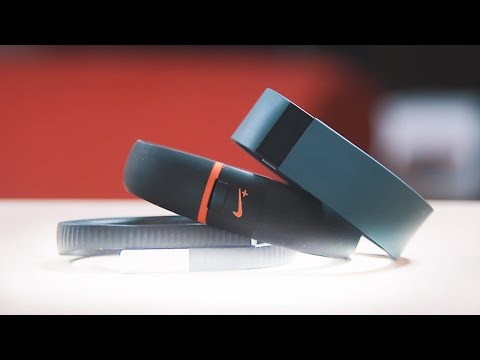 Fitbit Force vs Jawbone Up 24 vs Nike Fuelband SE
