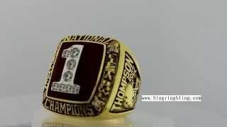 2002 Ohio State Big Ten Fiesta Bowl National Championship Rings