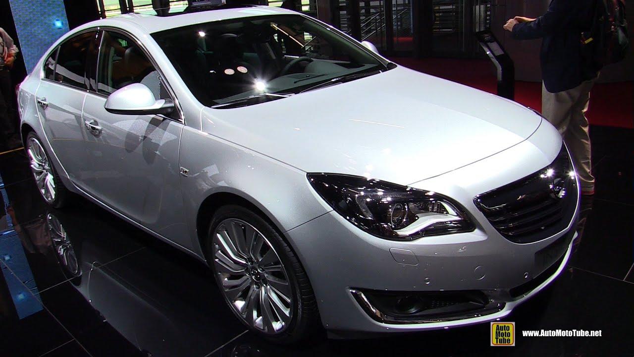 2015 Opel Insignia Cosmo Diesel - Exterior and Interior ...