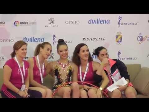 Paula Riquelme en Campeonato España 2016 Gudalajara  con Club Cronos