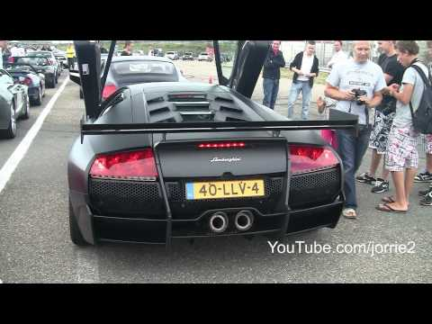 Matte Black LP670-4 SV-R w/ Reiter Exhaust LOUD REVVING!! Great Sound! - 1080p HD