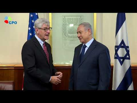 PM Netanyahu Meets with Governor of Mississippi Bryant
