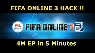4M EP in 5 Minutes Hack (100% Working) | Fifa Online 3 Upgrade Trick