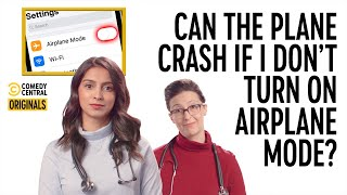 Can The Plane Crash If I Don't Turn On Airplane Mode? (ft. Simmi Singh) - Your Worst Fears Confirmed