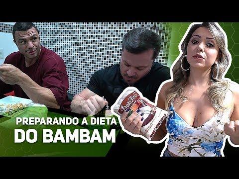 PREPARANDO A DIETA DO BAMBAM