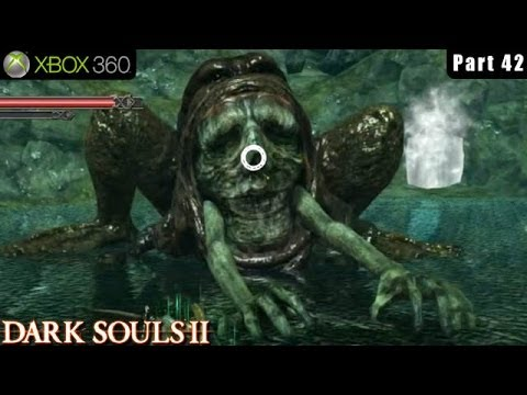 Dark Souls 2 - Xbox 360 Walkthrough Gameplay Part 42 (Beating Boss Demon of Song)