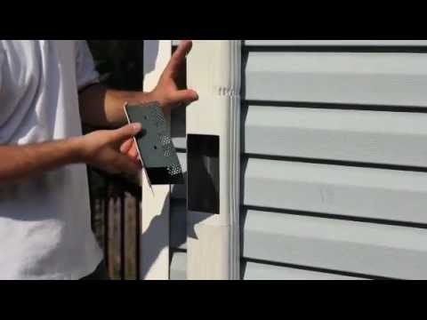 Raindrop Gutter Guard Downspout Strainer Youtube