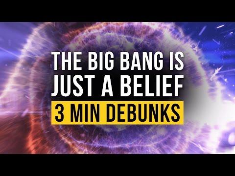The Big Bang is Just a Belief - Debunked / Ken Ham Refuted  (3 Minute Debunks Ep1)