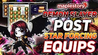 A TON of Upgrading + New Equips! MapleStory: Road to Demon Slayer Episode Four