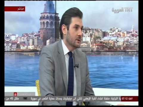Ibrahim Bouazzi TRT Al Arabia 16-03-2016