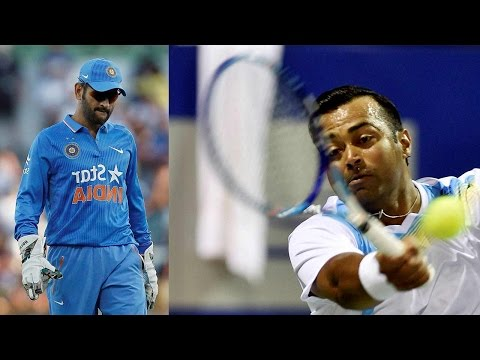 MS Dhoni's gloves and Leander Paes's racquets auctioned for Rs 2.5 lakhs | Oneindia New