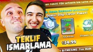 ÖMER'İN ISMARLAMA ÖZEL TEKLİFİ !!! Clash Royale