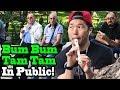 BUM BUM TAM TAM - Mc Fioti x J Balvin - SINGING IN PUBLIC!!