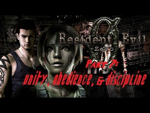 Gimme More Resident Evil: Zero! Playthrough Part 7 - Unity, Obedience, & Discipline video