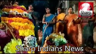 Telangana  Bathukamma celebrations in Hyderabad 20