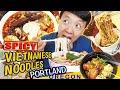 SPICY VIETNAMESE NOODLES, JAPANESE RAMEN & BEST Chicken Rice in Portland Oregon