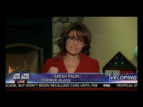 Sarah Palin Blasts The Obama Administration's Incompetent Response To The Ebola Crisis