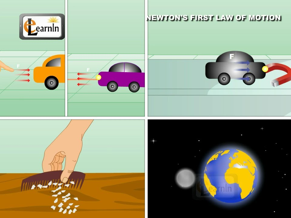 newton u0026 39 s first law of motion - science
