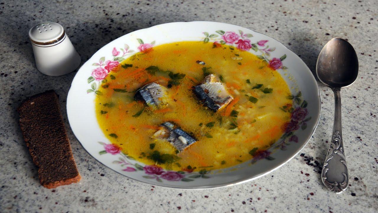 Суп из консервы с рисом и картошкой рецепт пошагово
