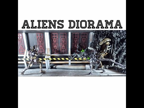 Aliens Diorama (How To Build) Hive