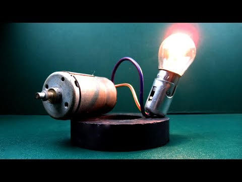 100% Free Energy Generator Using Magnet & Motor   New Technology Idea Project At Home