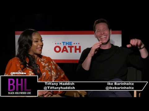 Tiffany Haddish & Ike Barinholtz | The Oath Press Junket