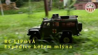 RC Lipová , expedice RC modelů 2018