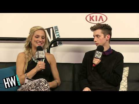Troye Sivan Talks 'Troyler' Relationship & New Album Details! (VIDCON 2014)