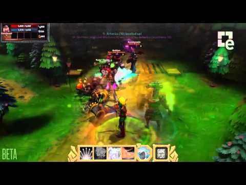 Dungeon Defenders II Huntress Hero Showcase
