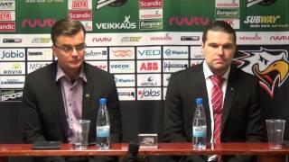 Sport-TV: Sport-SaiPa lehdistötilaisuus 24.2.2015