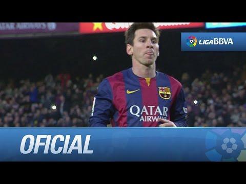 Messi llega a los 300 partidos en Liga con un hat-trick