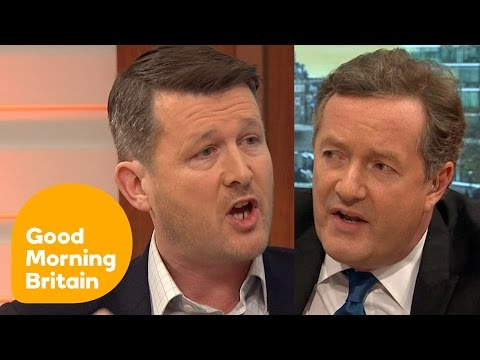 Piers Morgan Rages At Big Game Hunter Over Repellant Sport | Good Morning Britain