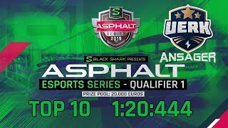 Asphalt 9: eSports Series   1st Qualifier 1:20:444