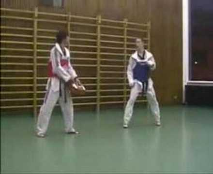 Taekwondo Drills Training Image 1
