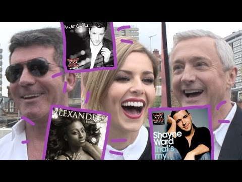 How many times can we fit X Factor winners' single titles into an interview with the judges?