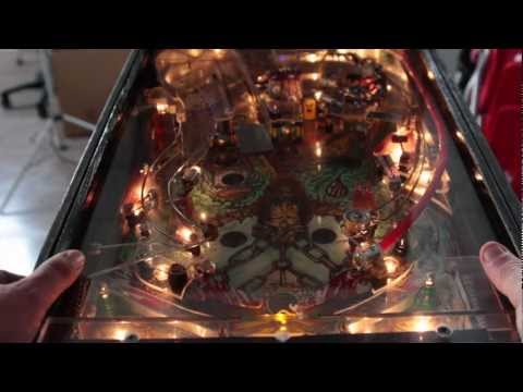 DISASTER SURREALISM PINBALL / homemade pinball machine / Pin Ball Casero made in Spain